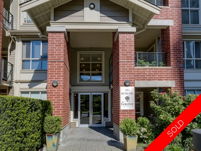 404 285 Ross Drive, Fraserview, New Westminster Condo for sale: THE GROVE 1 + Den 800 sq.ft.