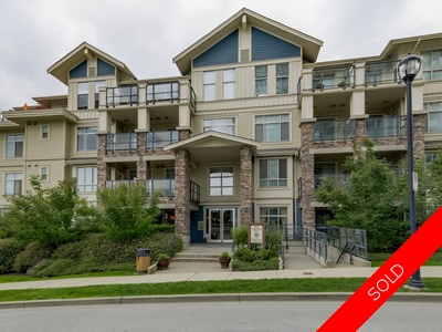 109 290 FRANCIS WAY, New Westminster, BC, V3L 0C4 - Fraserview Condo for sale: THE GROVE 1 bedroom 650 sq.ft.