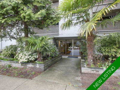 Downtown Condo for sale: THE RIDGEVIEW 1 bedroom 610 sq.ft. - 107 423 AGNES STREET, New Westminster, BC, V3L 1G2