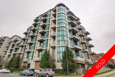 Quay Condo for sale: MURANO LOFTS 1 bedroom 812 sq.ft. - 213 7 RIALTO COURT, New Westminster, BC, V3M 7A8